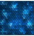 seamless blue background with circles texture vector image vector image