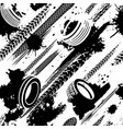 tire tracks seamless pattern vector image vector image