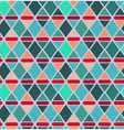 abstract triangle and rhombus seamless pattern vector image vector image