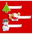 Christmas Tag vector image vector image