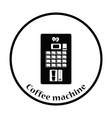 Coffee selling machine icon vector image vector image