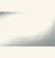 monochrome halftone gradient with crosses vector image
