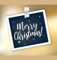 silver shining merry christmas abstract background vector image