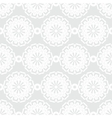 White texture with round ornaments vector image