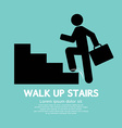 Walk Up Stairs Symbol