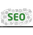 lines template seo vector image