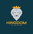 lion kingdom vector image