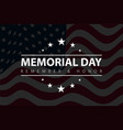 patriotic poster with american flag and text vector image
