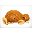 Peanut buttericon vector image vector image
