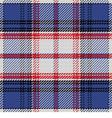 seamless pattern Scottish tartan State of Florida vector image vector image