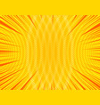 abstract bright comic background vector image vector image