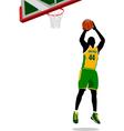 al 0815 basketball 03 vector image vector image