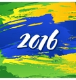 background colors brazilian flag with the vector image