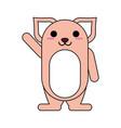 cat cartoon icon image vector image