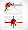 Gift envelope vector image vector image