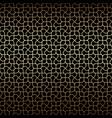 golden art deco linear seamless pattern vector image vector image