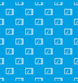 graphics tablet pattern seamless blue vector image vector image