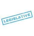 Legislative Rubber Stamp vector image