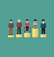 social issue equality concept vector image