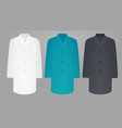 medical uniforms vector image