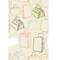 background with shopping bag vector image vector image