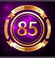 Eighty five years anniversary celebration with
