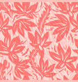 floral seamless stripes pattern vector image vector image