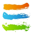 Grunge paint splash vector image vector image
