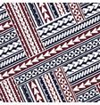 maori style ornament vector image vector image