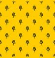 native american dreamcatcher pattern vector image
