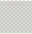 regularly repeating geometric tiles of rhombuses vector image