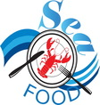 sea food1 vector image vector image