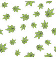 seamless texture marijuana two vector image