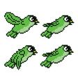 Bird Sprite vector image vector image
