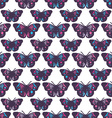 Butterfly pattern design vector image