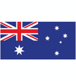 correct and accurate flag of australia vector image vector image