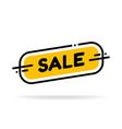 label template sale shop now flat big sale vector image vector image
