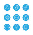 laboratory tool science vector image vector image