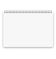 Notebook a3 size vector image vector image