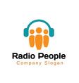Radio People Design vector image vector image