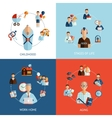 Stages Of Life Set vector image vector image