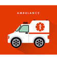 ambulance design vector image
