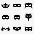 Festive masks vector image vector image