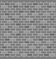 seamless pattern raw brick wall background vector image vector image