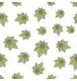 seamless texture medical marijuana six vector image vector image