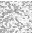 silver texture fabric with sequins vector image vector image