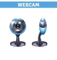 Webcam Realistic Design vector image