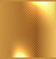 golden carbon fiber kevlar texture background vector image vector image