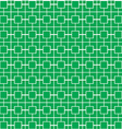 Green stripe pattern vector image vector image