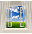 Opening Window vector image vector image